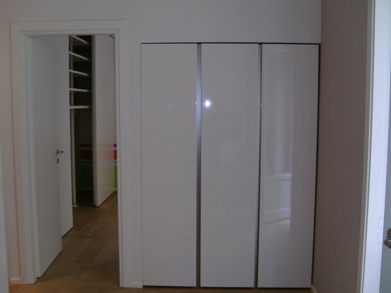 mobili segato - armadi - Mobili Ingresso Bianco Lucido