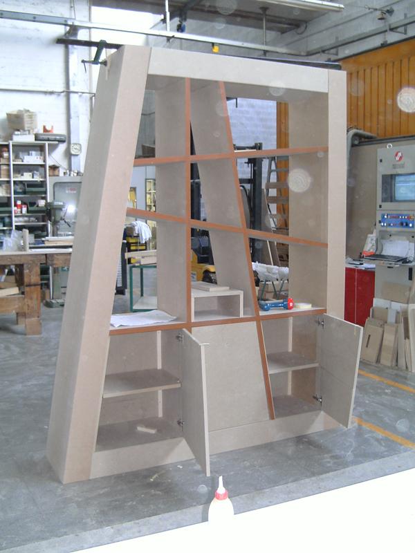 Mobili segato librerie for Librerie in legno componibili